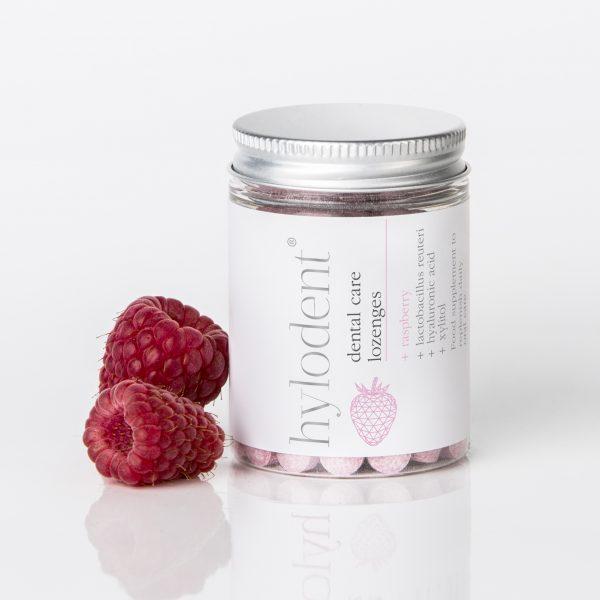 Hylodent Raspberry Lozenges