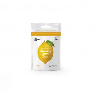 Natural chewing gum with xylitol