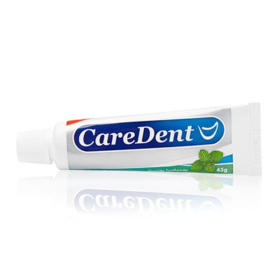 CareDent Spearmint Fluoride Toothpaste,